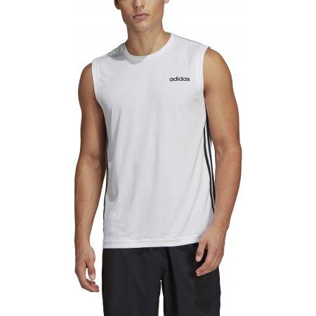 Men's tank top - adidas DESIGN2MOVE SLEEVELESS 3S - 3