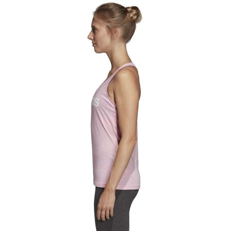 Women's tank top - adidas ESSENTIALS LINEAR SLIM TANK - 5