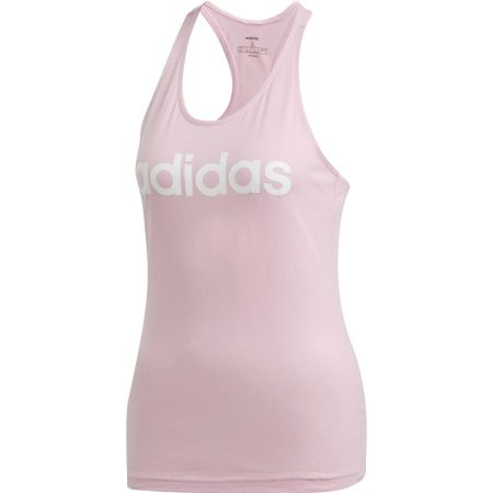 Women's tank top - adidas ESSENTIALS LINEAR SLIM TANK - 1