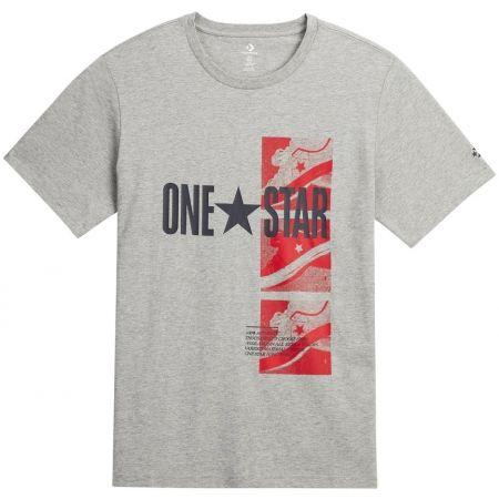 Converse ONE STAR PHOTO - Pánské triko