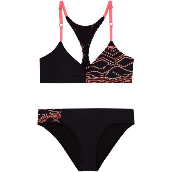 O'Neill PG TRIANGLE BEAD BIKINI czarny 164 - Dwuczęściowy strój kąpielowy dziewczęcy