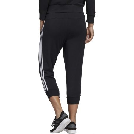 Women's 3/4 length pants - adidas ESSENTIALS 3 STRIPES 3/4 PANT SINGLE JERSEY - 6