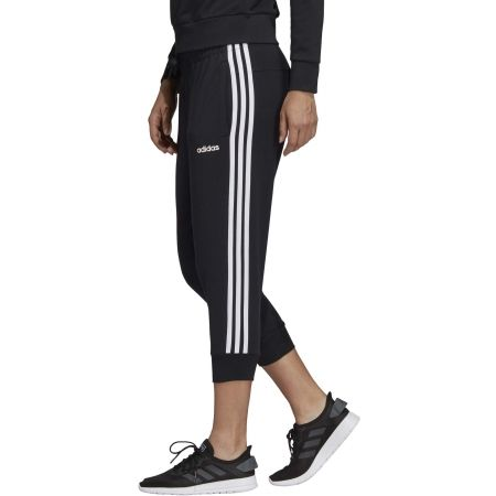 Women's 3/4 length pants - adidas ESSENTIALS 3 STRIPES 3/4 PANT SINGLE JERSEY - 4