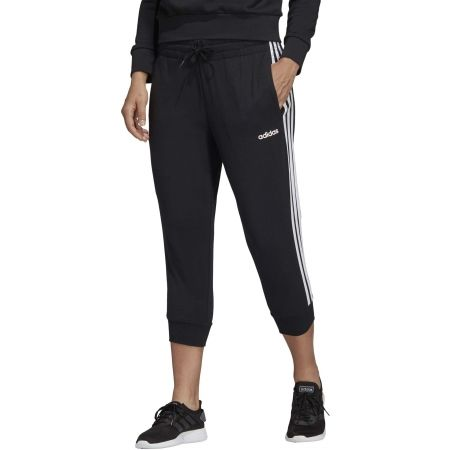 Women's 3/4 length pants - adidas ESSENTIALS 3 STRIPES 3/4 PANT SINGLE JERSEY - 3