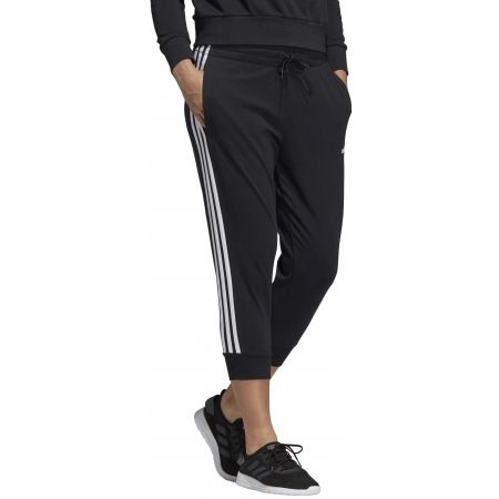 Women's 3/4 length pants - adidas ESSENTIALS 3 STRIPES 3/4 PANT SINGLE JERSEY - 5
