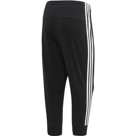 Women's 3/4 length pants - adidas ESSENTIALS 3 STRIPES 3/4 PANT SINGLE JERSEY - 2
