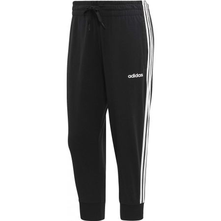Women's 3/4 length pants - adidas ESSENTIALS 3 STRIPES 3/4 PANT SINGLE JERSEY - 1