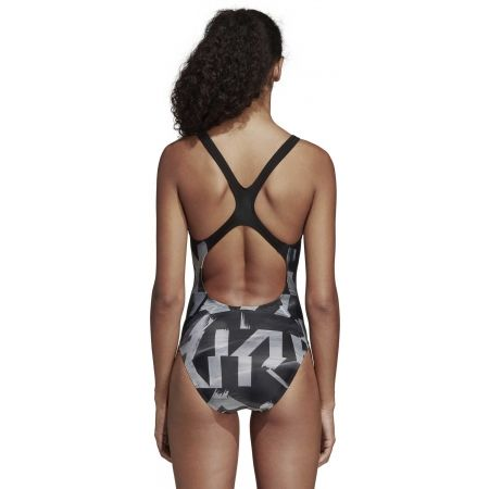 Women's swimsuit - adidas ATHLY X GRAPHIC SWIMSUIT - 7