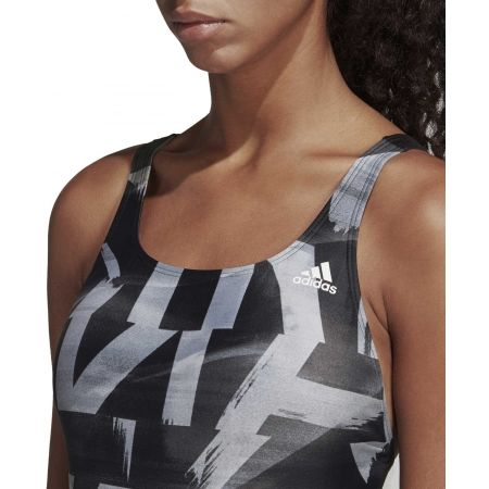 Women's swimsuit - adidas ATHLY X GRAPHIC SWIMSUIT - 8