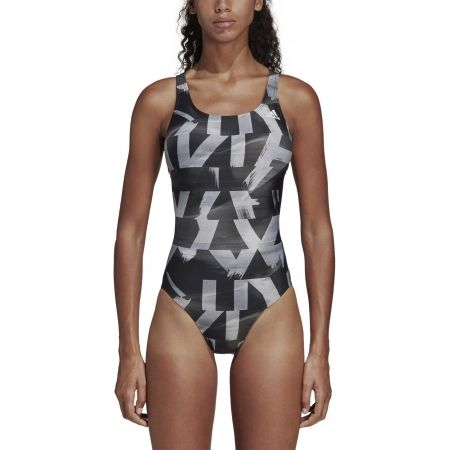 Women's swimsuit - adidas ATHLY X GRAPHIC SWIMSUIT - 4