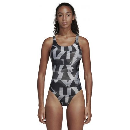 Women's swimsuit - adidas ATHLY X GRAPHIC SWIMSUIT - 3