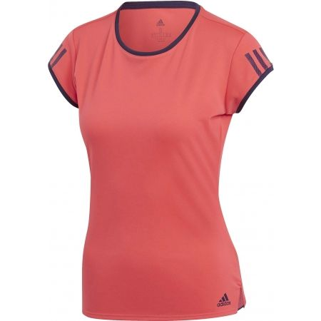 149acaa36cfa Dámské sportovní tričko - adidas CLUB 3 STRIPES TEE - 1