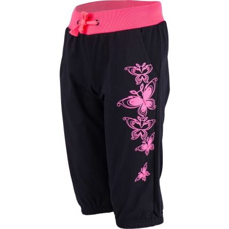 Girls' 3/4 length sweatpants - Lewro MERIEL - 1