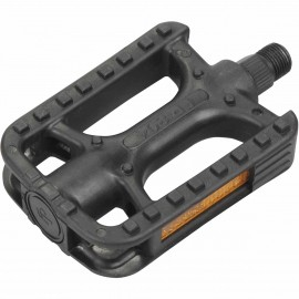 One PLASTIC BICYCLE PEDALS WITH BEARINGS - Bicycle pedals