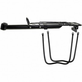 One ALUMINIUM SEAT POST CARRIER - Aluminium bicycle carrier