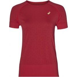 Asics SEAMLESS SS TEXTURE - Women's running T-shirt