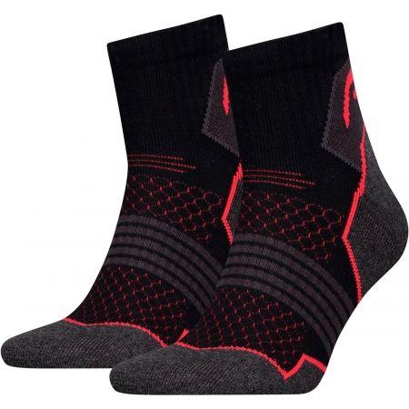 Head HIKING QUARTER 2P - Trekové ponožky
