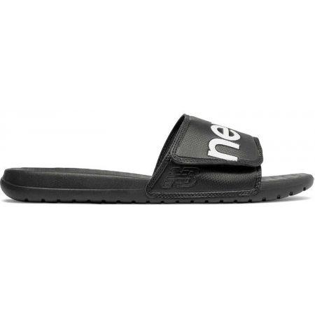 New Balance SDL230BK - Unisex slippers