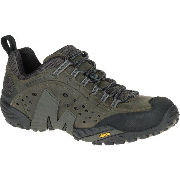 Merrell INTERCEPT tmavě šedá 9.5 - Pánské outdoorové boty