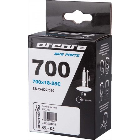 Bicycle tube - Arcore FV700x18-25C - 1