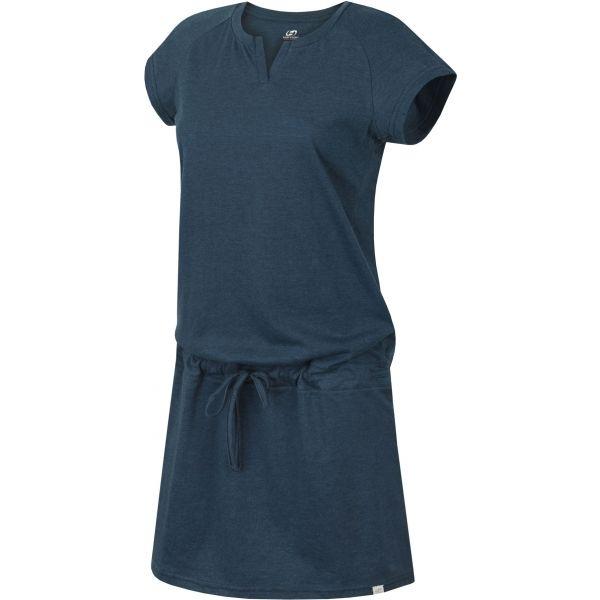 Hannah CASSIANA II modrá 34 - Dámské šaty