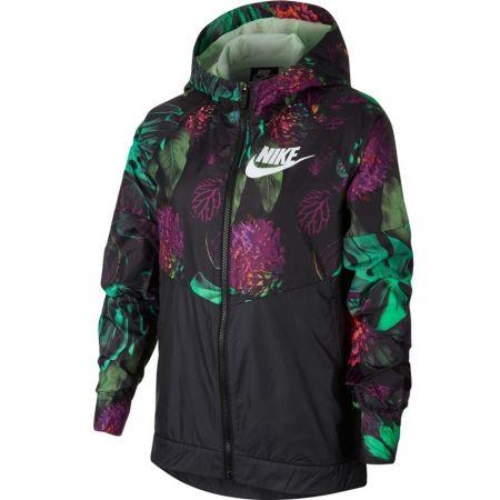 Nike NSW WR JKT HD AOP1 - Dívčí bunda