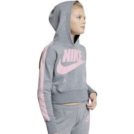 Nike NSW CROP PE AIR - Mädchen Hoodie