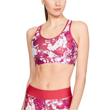 Dámská podprsenka - Under Armour ARMOUR MID MESH WORDMARK BRA - 3
