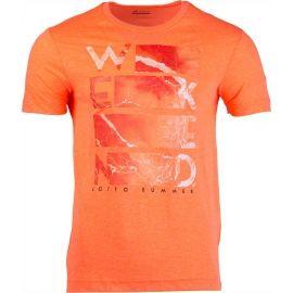 Lotto L73 V TEE BEACH PRT 1 PL - Pánské triko