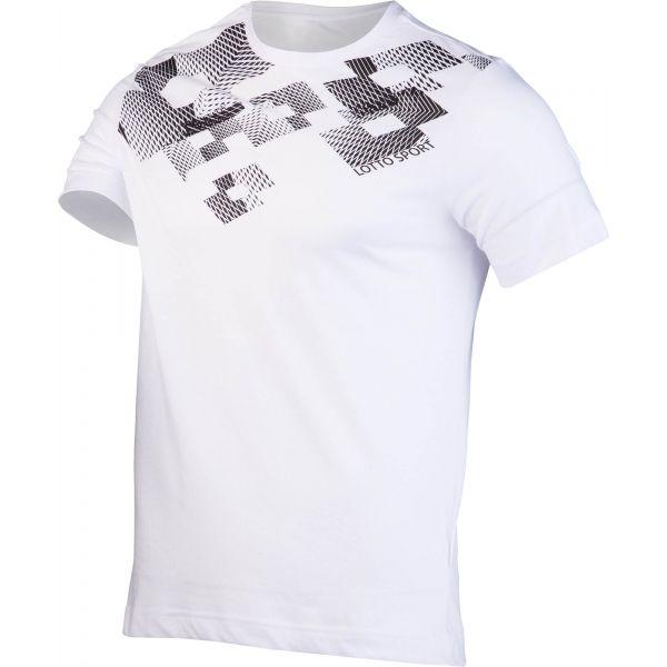 Lotto L73 V TEE LOSANGA JS biały XXL - Koszulka męska