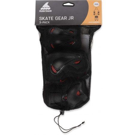 Set in-line detských chráničov - Rollerblade SKATE GEAR JUNIOR 3 PACK - 5