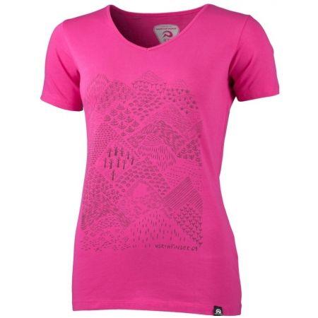 Northfinder PAMFILIA - Dámske tričko