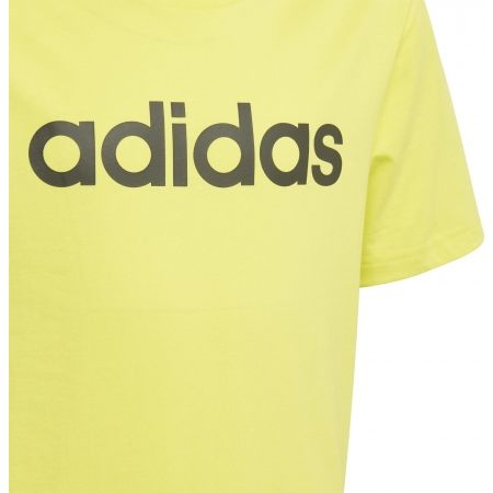 Boys' T-shirt - adidas ESSENTIALS LINEAR T-SHIRT - 4