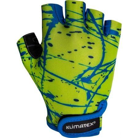 Klimatex ALED - Rękawice rowerowe dziecięce
