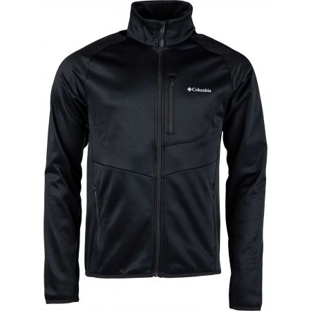 Men's outdoor sweatshirt - Columbia DRAMMEN POINT FULL ZIP FLEECE - 1