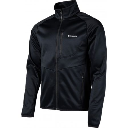 Men's outdoor sweatshirt - Columbia DRAMMEN POINT FULL ZIP FLEECE - 2