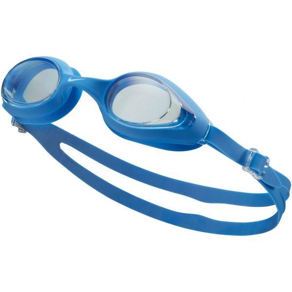 Nike HIGHTIDE niebieski NS - Okulary do pływania