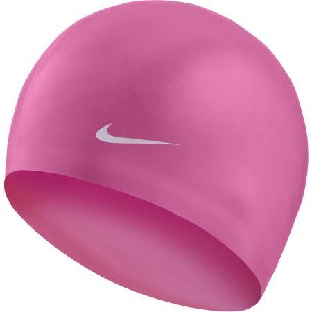 Plavecká čepice - Nike SOLID SILICONE