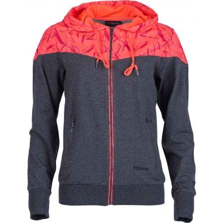 Women's hoodie - Fitforce MARGOT - 1