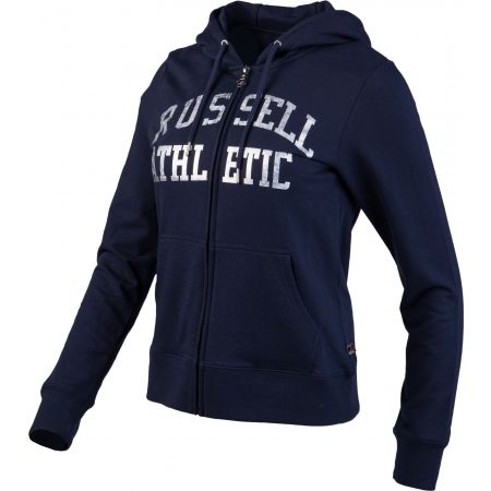 Dámská mikina - Russell Athletic CLASSIC PRINTED ZIP THROUGH HOODY - 2