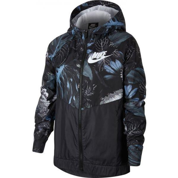 Nike NSW WR JKT HD AOP1  S - Dievčenská bunda