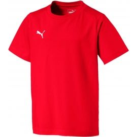 Puma LIGA CASUALS TEE JR - Boys' leisure T-shirt