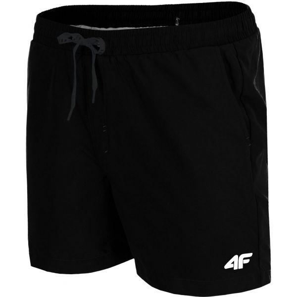 4F SZORTY MĘSKIE czarny XXL - Szorty kąpielowe męskie