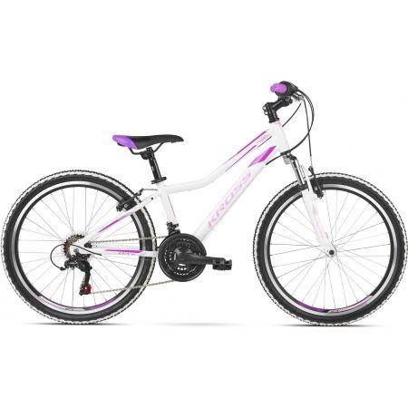 Dievčenský bicykel - Kross LEA JR 1.0 D 24