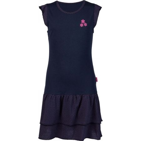 Girls' Dress with Ruffles - Lewro MARLA - 1