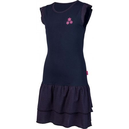 Girls' Dress with Ruffles - Lewro MARLA - 2