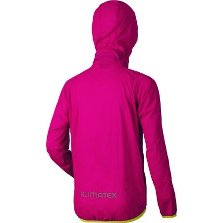 Kids' packaway wind jacket - Klimatex GULI - 3