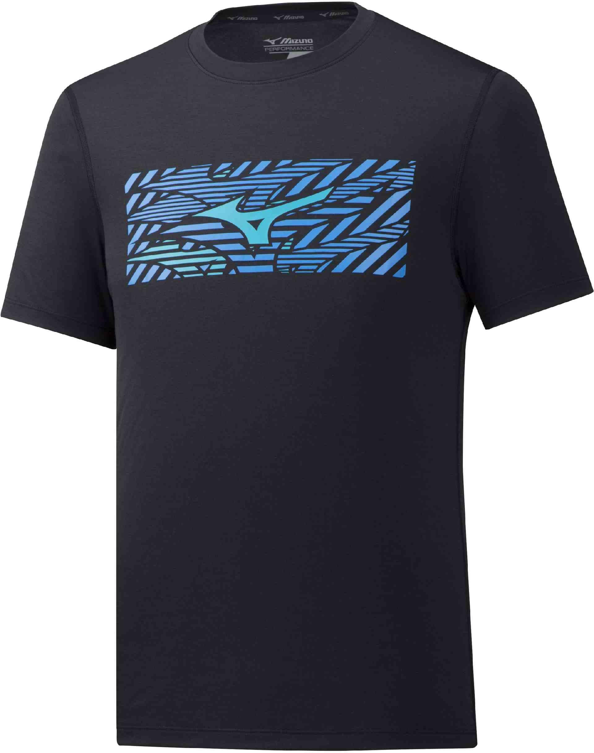 91911394d Mizuno IMPULSE CORE WILD BIRD TEE. Pánské běžecké triko