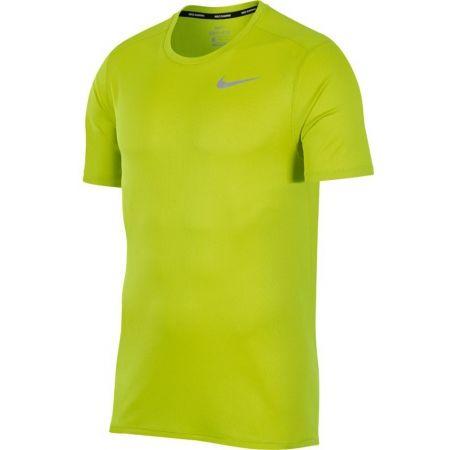 Pánské běžecké tričko - Nike DRI FIT BREATHE RUN TOP SS - 1