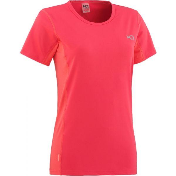 KARI TRAA NORA TEE růžová XS - Dámské sportovní tričko
